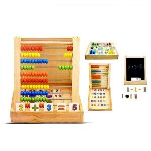 дървен образователен куфар