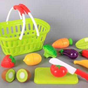 Кошница със зеленчуци за рязане