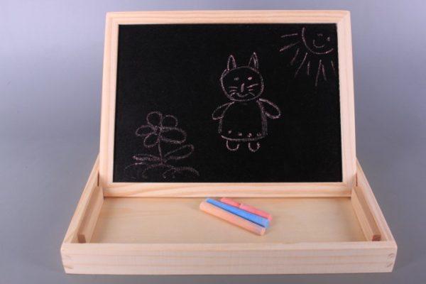 Дървена образователна дъска Ферма