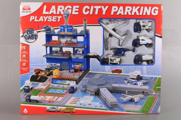 Голям паркинг и летище