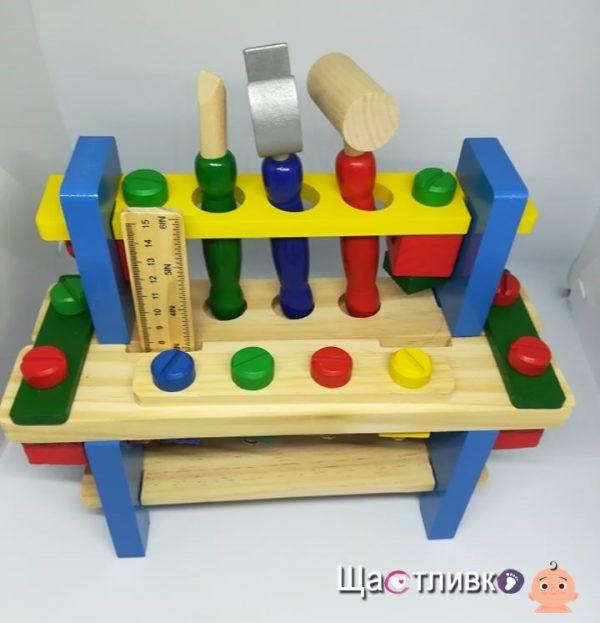 Дървен комплект инструменти
