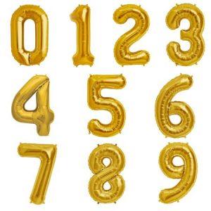 Фолиеви балони цифри 70 см
