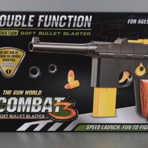 Пистолет играчка 28 см