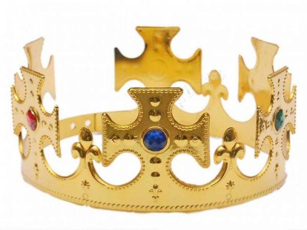 Златна парти корона