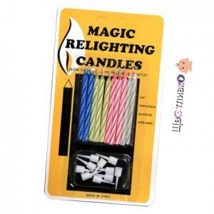 Магически негаснещи свещи
