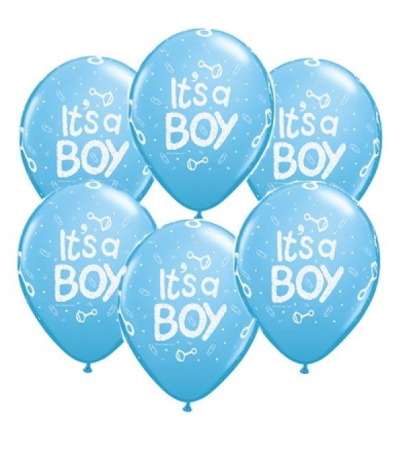 10 бр сини балони It's a Boy