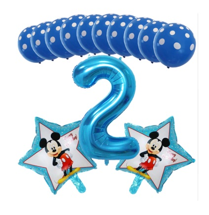 Балони 2ри рожден ден за момче