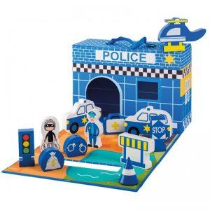 Дървена играчка Полицейско управление