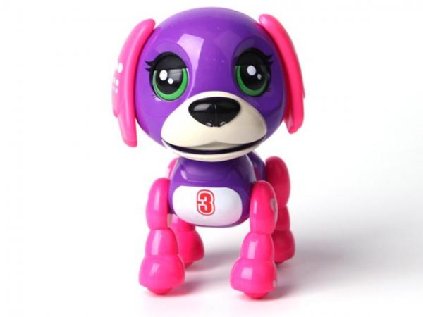 Интерактивно розово кученце