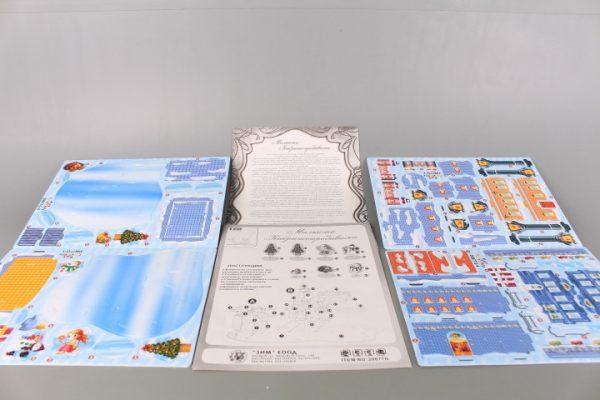 3D книжка пъзел Малката кибритопродавачка