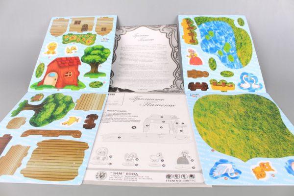 3D книжка пъзел Грозното патенце