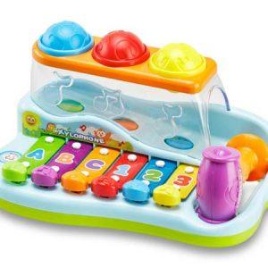 Бебешки ксилофон и топчета