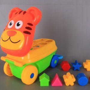 Тигър сортер за бутане